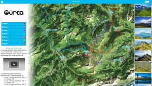 Capture du site Oürea Trail 2020